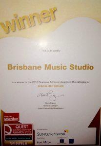 BMS Quest Business Award Winner
